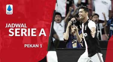 Berita video jadwal Serie A 2019-2020, laga Juventus vs Parma menjadi pembuka musim ini.