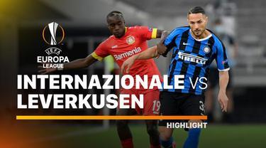 Berita video highlights perempat final Liga Europa 2019/2020 antara Inter Milan melawan Bayer Leverkusen yang berakhir dengan skor 2-1, Selasa (11/8/2020) dinihari WIB.