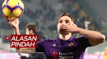 Berita Video Terungkap alasan Federico Chiesa pergi meninggalkan Fiorentina untuk Juventus