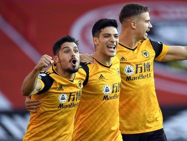 Raul Jimenez Bawa Wolverhampton Raih Tren Positif di Laga Awal Liga Inggris