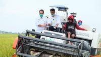 Menteri Pertanian (Mentan) yang juga sebagai Menteri Kelautan dan Perikanan Ad Interim, Syahrul Yasin Limpo melakukan kunjungan kerja ke Kabupaten Pemalang, Jawa Tengah, Senin, 7 Desember 2020.