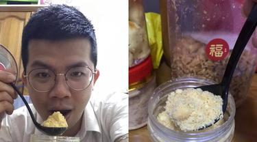 Kisah pria Malaysia yang menikmati kue Imlek sendirian karena pandemi COVID-19.