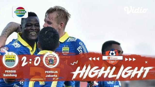 Laga lanjutan #ShopeeLiga1, mempertemukan #Persib Bandung vs #Persija Jakarta pada hari Senin sore (28/10/2019) berakhir dengan sk...