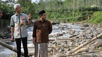 Gubernur Jateng Ganjar Pranowo dan Wakil Gubernur Taj Yasin Maimoen berhasil memenangkan hati pemilih pada Pilkada 2018