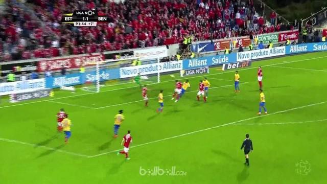 Jalan panjang menuju gelar juara Liga Portugal berlanjut dengan drama lainnya di akhir pekan, ketika Benfica mengatasi Estoril 2-1...