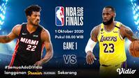 Final NBA 2020 di Vidio. (Sumber: Vidio)