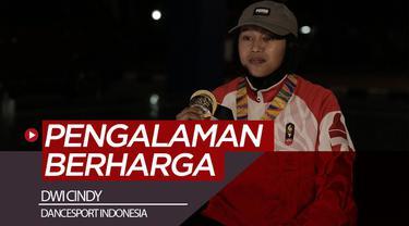 Berita video atlet dancesport Indonesia, Dwi Cindy, menceritakan pengalaman berharganya di SEA Games 2019, di mana ia memperebutkan medali emas di pertandingan yang akhirnya diperhitungkan sebagai eksebisi.