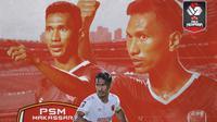 Piala Menpora - Zulkifli Syukur PSM Makassar (Bola.com/Adreanus Titus)