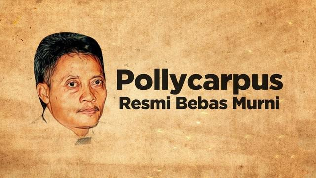 Terpidana kasus pembunuhan aktivis hak asasi manusia (HAM) Munir Said Thalib, Pollycarpus Budihari Prijanto bebas murni. Pollycarpus telah menjalani masa tahanan selama 8 tahun atas vonis hakim selama 14 tahun penjara.