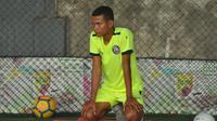 Ikhfanul Alam jadi satu di antara rekrutan baru Arema FC musim ini. (Bola.com/Iwan Setiawan)