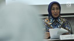 Anggota Ombudsman RI Ninik Rahayu saat memberikan keterangan hasil pengawasan terhadap Pelayanan Publik Lapas/Rutan di Jakarta, Senin (24/9). Dalam pengawasan dan sidak di sejumlah lapas, tim menemukan sejumlah fakta. (Merdeka.com/Iqbal S Nugroho)