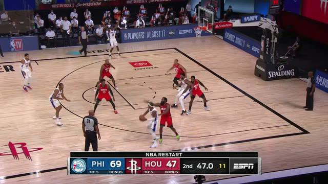 Berita Video Highlights NBA, Philadelphia 76ers Unggul Jauh Atas Houston Rockets 134-96