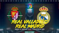 La Liga - Real Valladolid Vs Real Madrid (Bola.com/Adreanus Titus)
