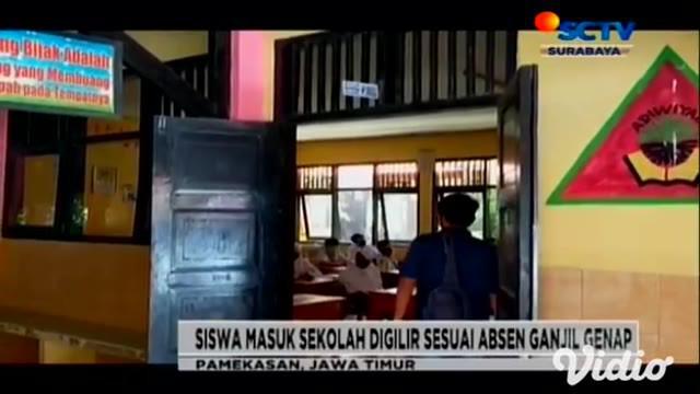 Pemerintah Kabupaten Pamekasan, Jawa Timur mulai melakukan proses pembelajaran tatap muka (PTM). KBM dilakukan dengan protokol kesehatan ketat, dan siswa digilir masuk melalui sistem ganjil genap nomor absen.