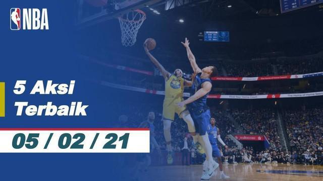 Berita Video 5 Aksi Terbaik NBA 5 Februari 2020, Melihat Slam Dunk Keren Jamal Murray