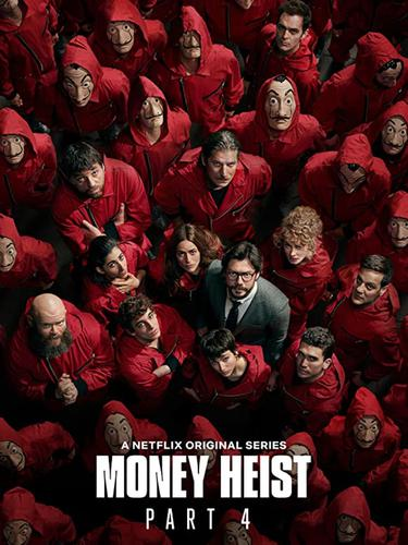 Poster serial Money Heist. (Foto: IMDb/ Netflix)