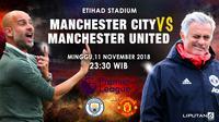 Prediksi Manchester City Vs Manchester United (Liputan6.com/Trie yas)