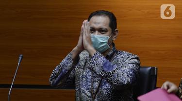 FOTO: KPK Resmi Tahan Nurhadi dan Menantu Terkait Kasus Suap