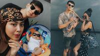 Potret Keluarga Kecil Marcell Darwin dan Fasty Nabila. (Sumber: Instagram.com/marcelldarwin)