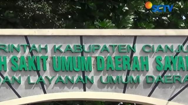Kini keduanya tengah menjalani perawatan medis di kamar isolasi yang dibagi di beberapa ruangan di RSUD, Cianjur, Jawa Barat.
