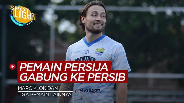 Berita video spotlight kali ini membahas tentang pesepakbola yang tinggalkan Persija Jakarta dan bergabung dengan Persib Bandung.