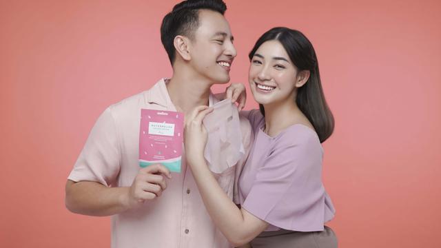 Brand Ambassador Ariul Indonesia, yakni Billy Davidson dan Patricia Devina