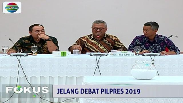 Sementara, tanggal debat kelima ditetapkan dengan mengundi secara acak. Di depan awak media, Ketua KPU Arief Budiman mengambil angka 13 dan diputuskan 13 April sebagai pelaksanaan debat terakhir.
