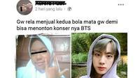 5 Status Facebook Berkorban Demi Nonton Konser Ini Bikin Geleng Kepala (sumber: Facebook Kementrian Humor Indonesia)