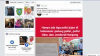 Kedua terlapor kasus penyebaran hoaks ini sudah menyampaikan permintaan maaf secara terbuka saat digelarnya pres rilis di Mako Polres Kepulauan Sula.