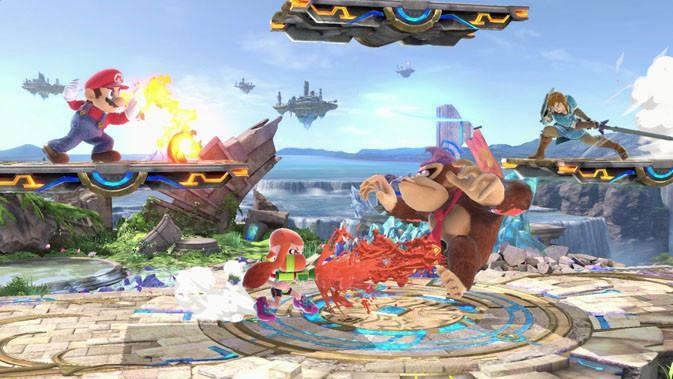 Debut di E3 2018, Super Smash Bros Hadirkan 66 Karakter Gim Lawas. (Doc: Nintendo)