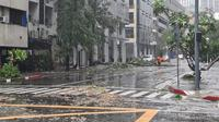 Banjir di Metro Manila pada Kamis 12 November 2020. Dok: KBRI Manila