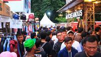 Berikut keseruan bazaar Jakclotch dan Ice Cream Festival di Padang Sumatera Barat. (Foto: Dok. Jakcloth)