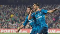 Winger Real Madrid, Marco Asensio. (AP Photo/Miguel Morenatti)