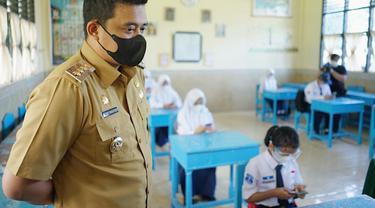 Simulasi Belajar Tatap Muka di Medan Berjalan Lancar, Bobby Nasution Diapresiasi