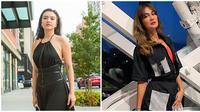 Gaya artis di New York Fashion Week (Sumber: Instagram/haristjio/bimopermadi)