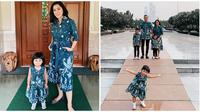 Aliya Rajasa dan Edhie Baskoro Yudhoyono bersama ketiga buah hati mereka. (dok. Instagram @ruby_26/https://www.instagram.com/p/B4v_qrKg2Bb/?hl=en/Putu Elmira)