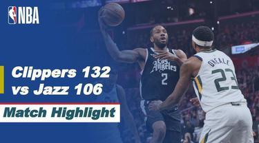 Berita Video, LA Clippers Vs Utah Jazz di Semifinal NBA Playoffs pada Minggu (13/6/2021)
