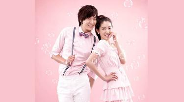 Lee Min Ho dan Park Shin Hye