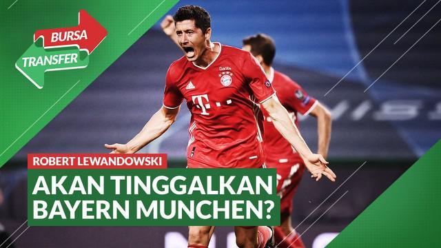 Berita Video Diincar Chelsea, Robert Lewandowski Bakal Tinggalkan Bayern Munchen?