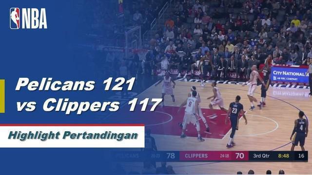 Anthony Davis memiliki 46 poin mengerikan, 16 rebound-double untuk mengangkat Pelikan melewati Clippers 121-117