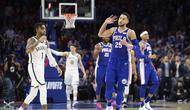 Ben Simmons Triple Double, Sixers Balas Kalahkan Nets (AP)