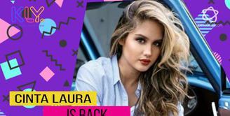 Cinta Laura tunjukan kemampuannya dalam film Target.