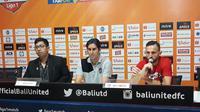 Jumpa Pers PSIS usai kalah dari Bali United (Dewi Devianta/Liputan6.com)