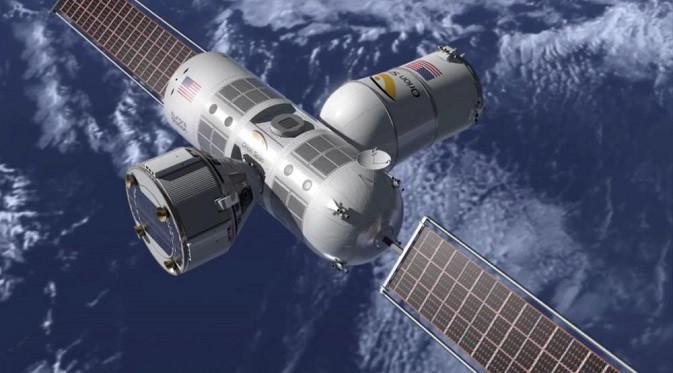 Aurora Station, hotel luar angkasa pertama di dunia. (Foto: Orionspan.com)