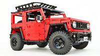 Suzuki Jimny versi lego. (Autoevolution)