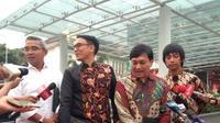 Sejumlah artis diundang Jokowi di Istana Bogor. (Lizsa Egeham)