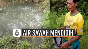 Beredar video di media sosial adanya semburan air yang terlihat mendidih di Batuputih, Kabupaten Sumenep, Madura. Kemunculan semburan air seperti mendidih terjadi di tempat yang berbeda.