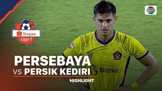 Berita Video Highlights Shopee Liga 1 2020, Persebaya Surabaya Vs Persik Kediri 1-1