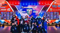 Komunitas mobil Wuling Almaz Indonesia (WALI) merayakan hari jadi yang ke-2 pada Minggu (19/9/2021).