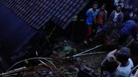 Longsor di Banjarnegara menyebabkan ratusan rumah rusak. (Foto: Liputan6.com/BPBD BNA/Muhamad Ridlo)
